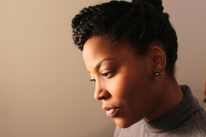 Protective Styling: Twisted Updo