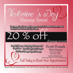Valentine's Day Massage Special