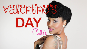 Valentine's Day Natural Hair Styles | An Atlanta Vlogger Collab