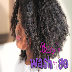 How To | Akina's Wash 'n Go