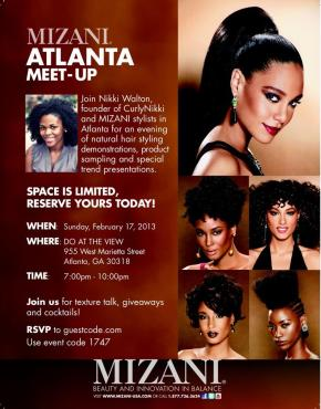 [Recap]Curly Nikki Meet Up hosted by Mizani Feb 17,2013