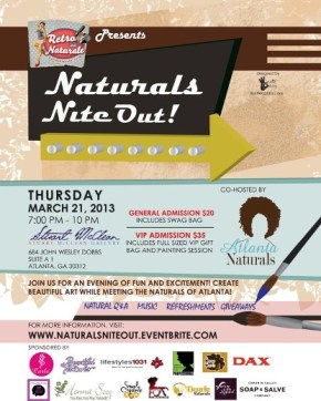 [RECAP] Naturals Nite Out March 21, 2013